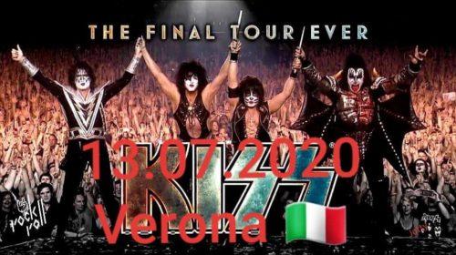 Kiss - Arena di Verona 2020 - Promo