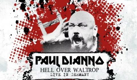 Paul Di Anno - Hell Over Waltrop Live In Germany - Album Cover