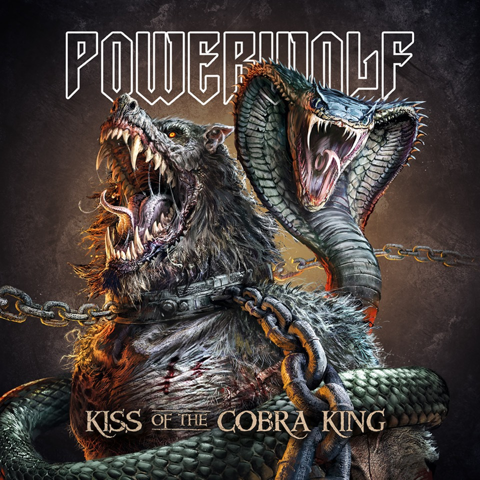 Powerwolf - Kiss Of The Cobra King - Single Cover