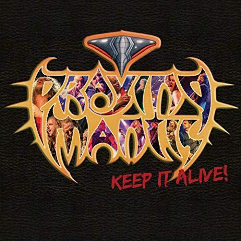 Praying Mantis - Keep It Alive - Album Cover
