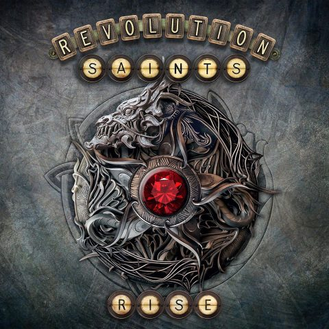 Revolution Saints - Rise - Album Cover