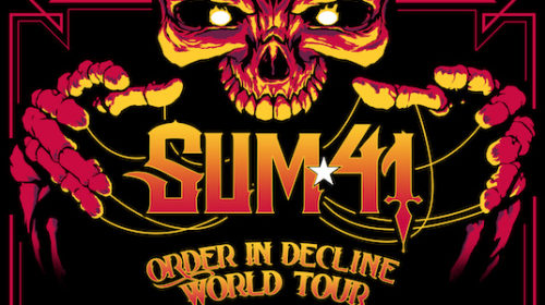 Sum41 - Order In Decline World Tour 2020 - Promo
