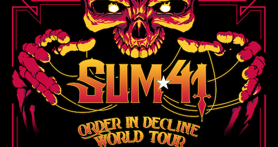 Sum41 - Order In Decline World Tour 2020 - Promo
