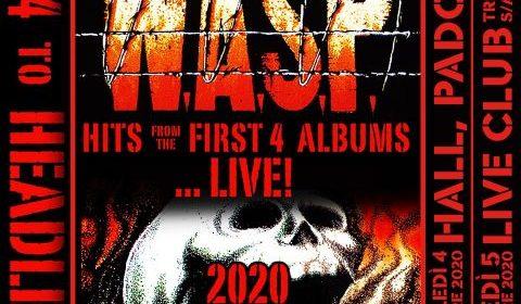 WASP - 1984 To Headless Tour 2020 - Promo