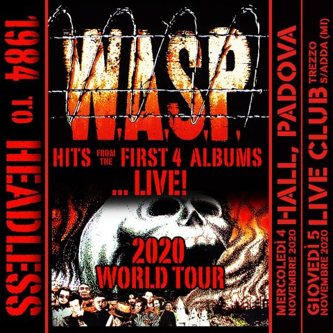 WASP - 1984 To Headless Tour 2020 - Promo