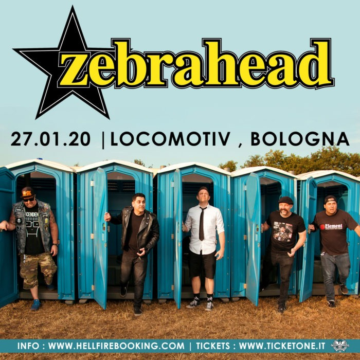 Zebrahead - Locomotive Club - tour 2020 - Promo