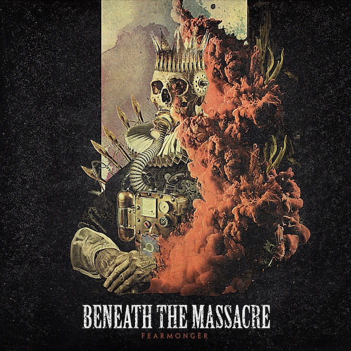 Beneath The Massacre - Fearmonger - Album Cover