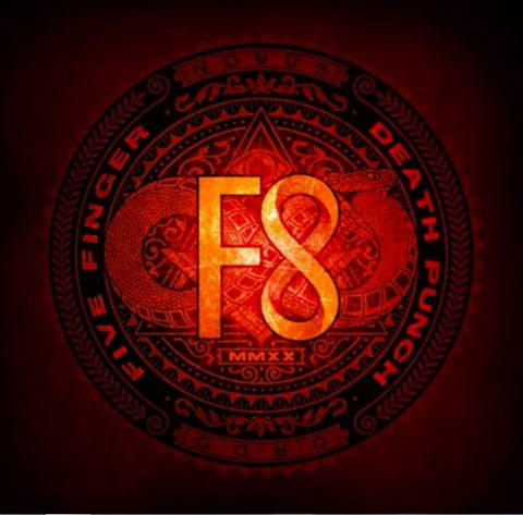 Five Finger Death Punch - F8 - Album Cover