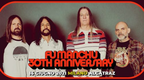 Fu Manchu - Alcatraz - 30Th Anniversary Tour 2021 - Promo