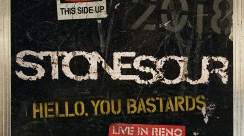 Stone Sour - Hello You Bastards Live In Reno - Album Cover
