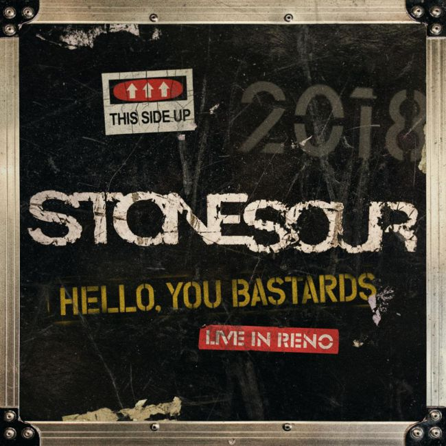 Stone Sour - Hello You Bastards Live In Reno - Album Cover