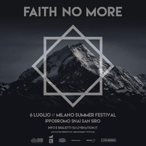 Faith No More - Ippodromo Snai San Siro - Milano Summer Festival 2020 - Promo