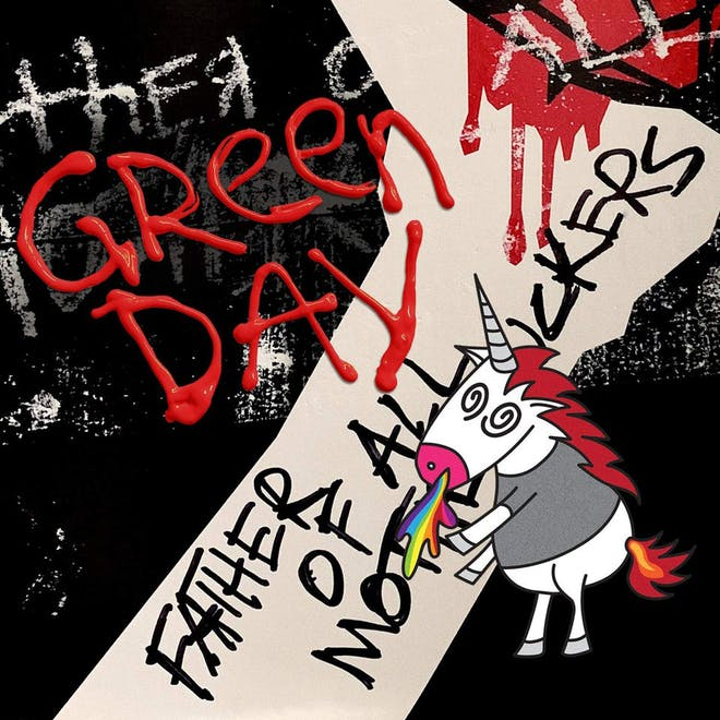 Green Day - Father Of All Motherfuckers - Album Cover