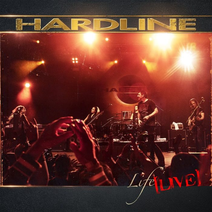 Hardline - Live Life - Album Cover