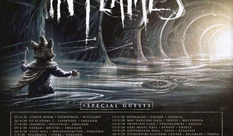 In Flames - Italian Tour 2020 - Promo