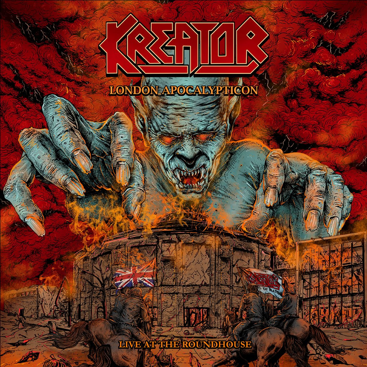 Kreator - London Apocalypticon Live At The Roundhouse - Album Cover
