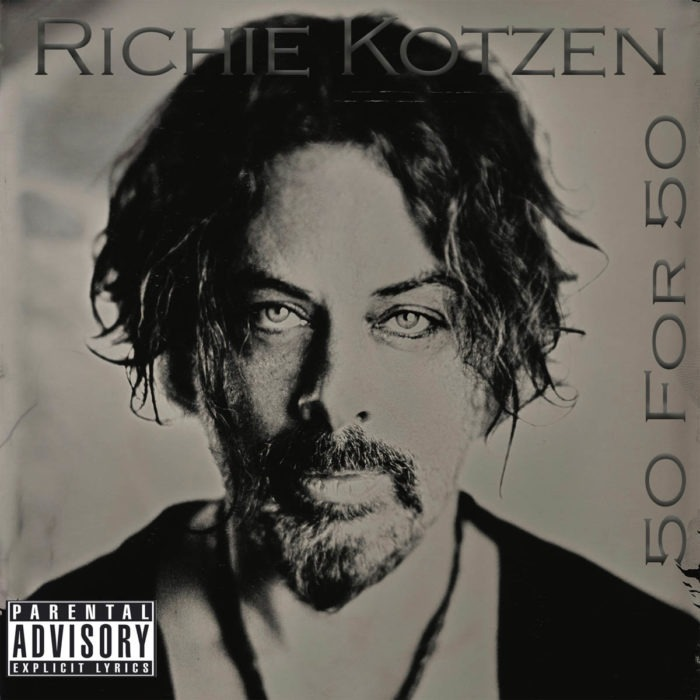 Richie Kotzen - 50 For 50 - Album Cover