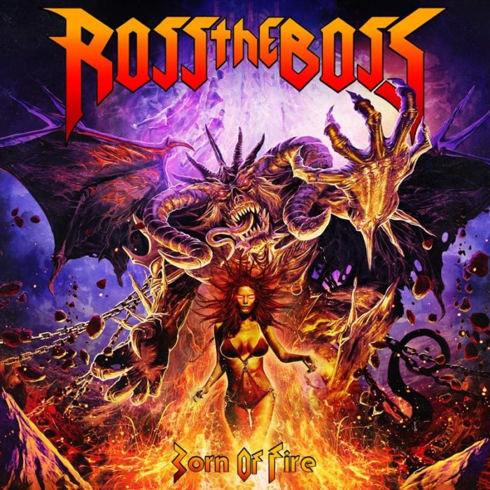 Ross The Boss - Born Of Fire - Album Cover