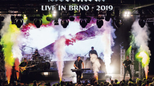 The Neal Morse Band - The Great Adventour Live In BRNO 2019 - Album Cover
