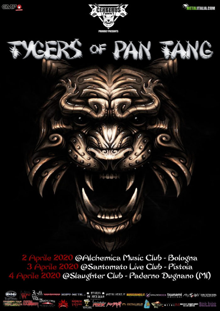 Tygers Of Pan Tang - tour 2020 - Promo