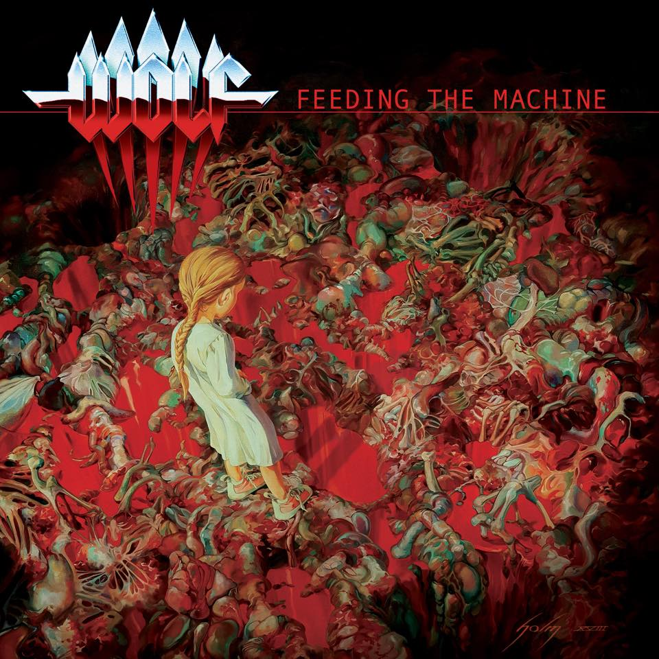 Wolf - Feeding The Machine - Album Cover