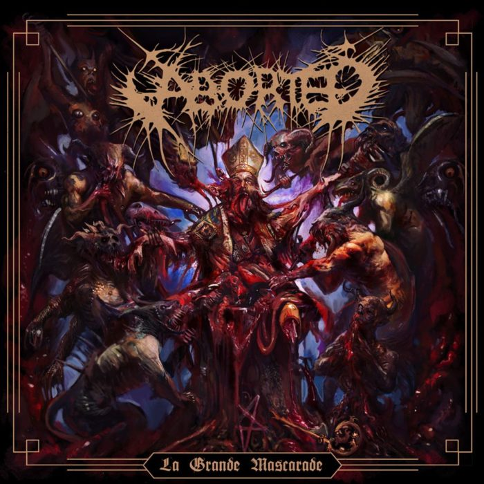 Aborted - La Grande Mascarade - EP Cover