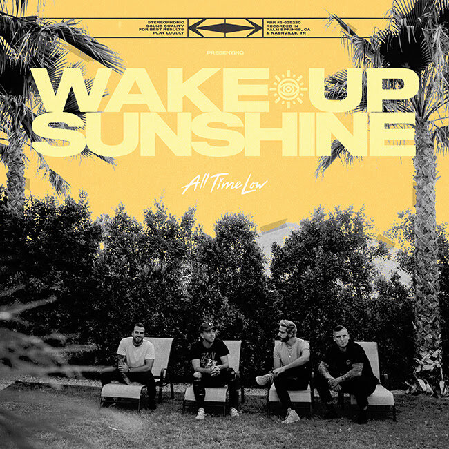 All Time Low - Wake Up Sunshine - Album Cover