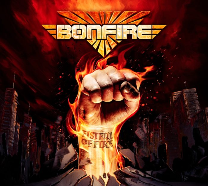 Bonfire - Fistful Of Fire - Album Cover