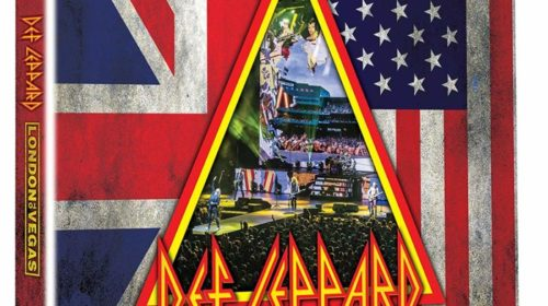 Def Leppard - London To Vegas - DVD - CD - Blu Ray - Cover