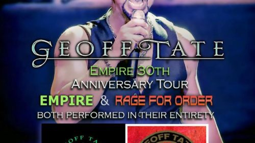 Geoff Tate - Empire 30Th Anniversary Tour 2020 - Promo