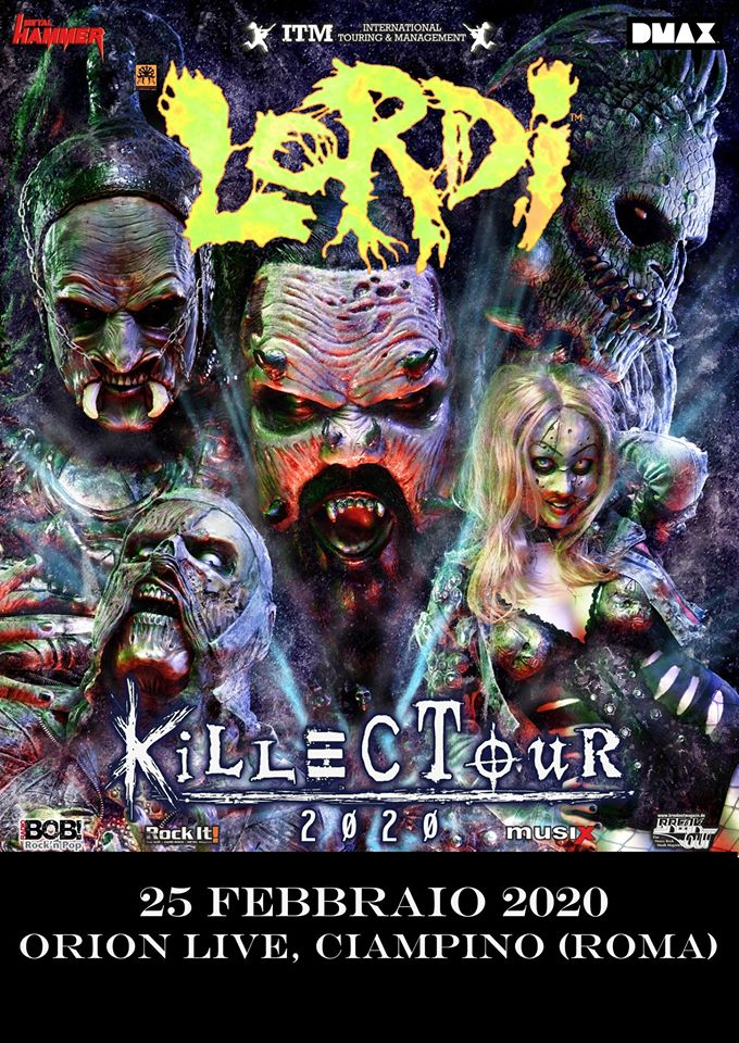 Lordi - Orion Live - Roma - Killectour 2020 - Promo