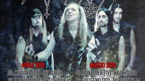 Necrodeath - Tour Italiano - Aprile - Maggio - 2020 - Promo