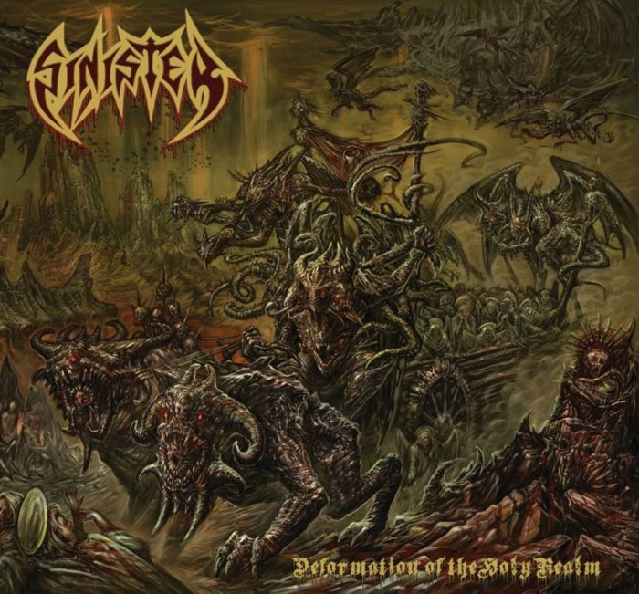 Sinister - Deformation Of The Holy Realm - Album Cover