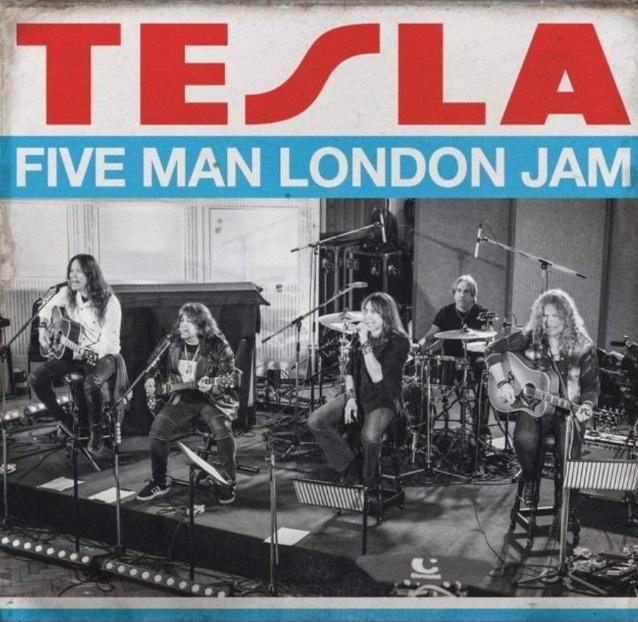 Tesla - Five Man London Jam - CD - Blu Ray - Cover