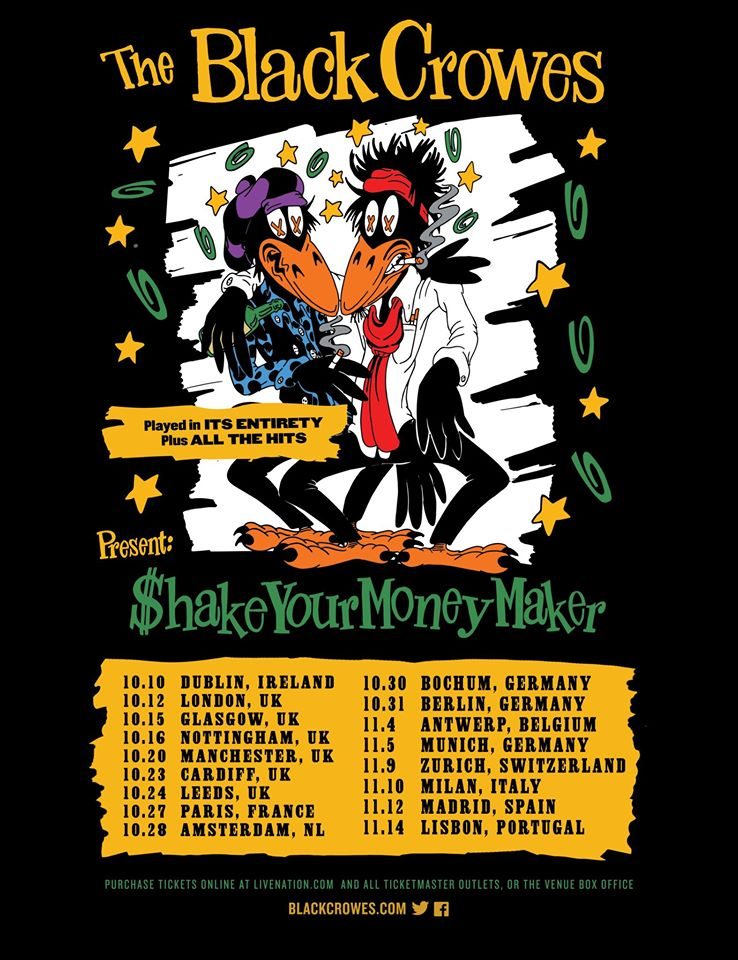 The Black Crowes - Shake Your Money Maker - Tour 2020 - Promo