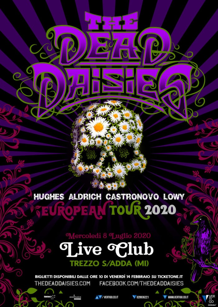 The Dead Daisies - Live Club - European Tour 2020 - Promo