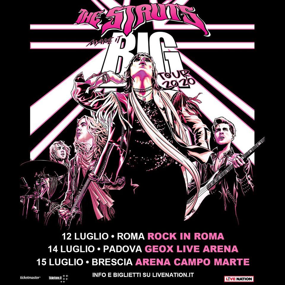 The Struts - Make It Big Tour 2020 - Promo