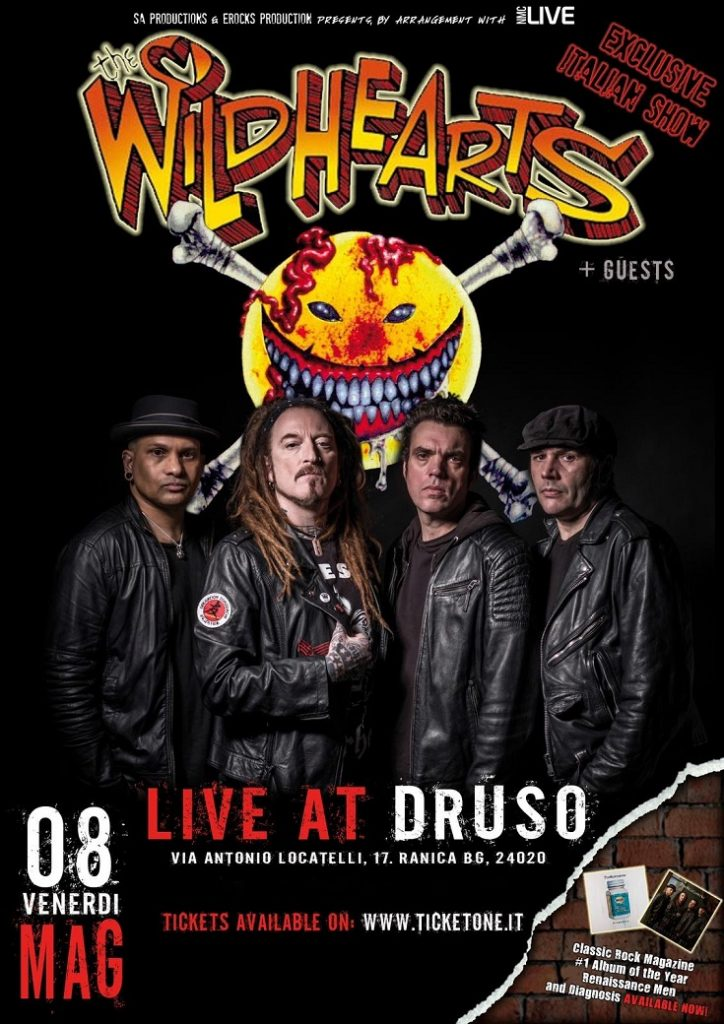 The Wildhearts - Live At Druso 2020 - Promo