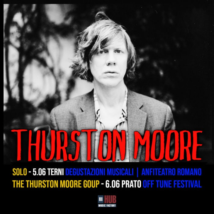 Thurston Moore - Italian Tour 2020 - Promo