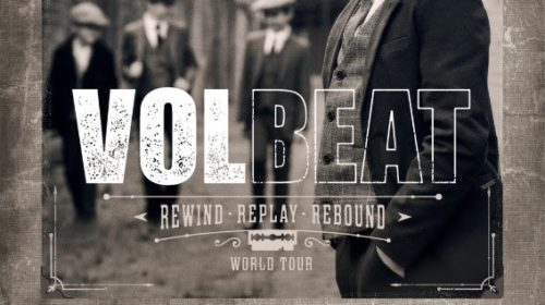 Volbeat - Rock In Roma - Rewind Replay Rebound - World Tour 2020 - Promo