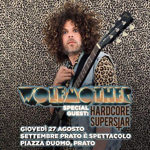 Wolfmother - Hardcore Superstar - Settembre Prato E' Spettacolo - 2020 - Promo