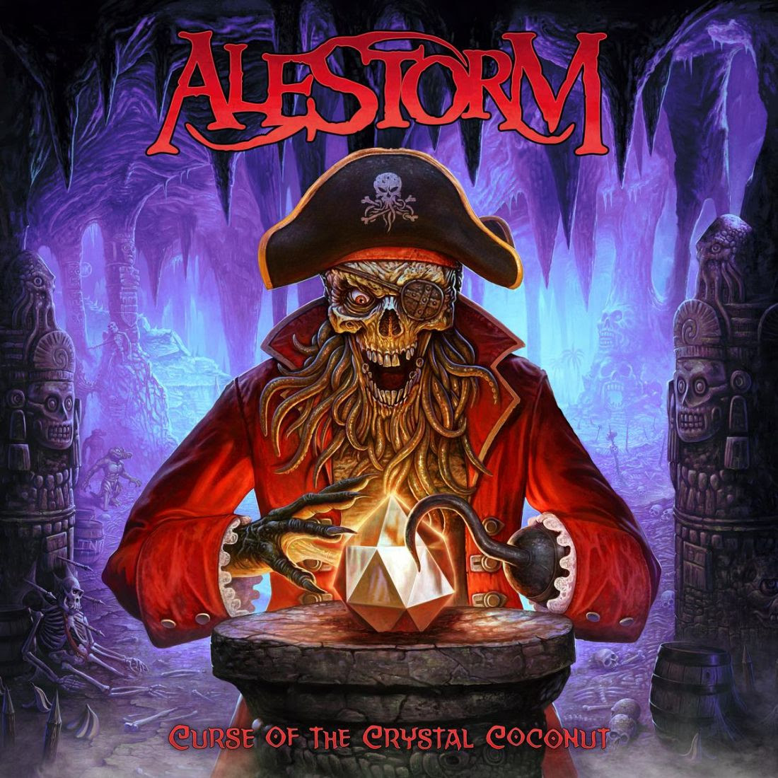 Alestorm - Curse Of The Crystal Coconut - Album Cover