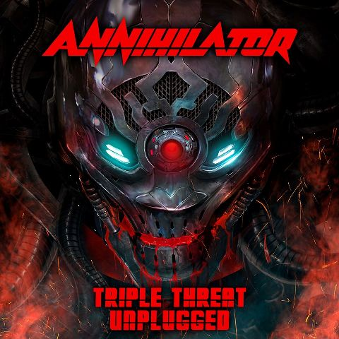 Annihilator - Triple Threat Unplugged - Picture Disc - Cover