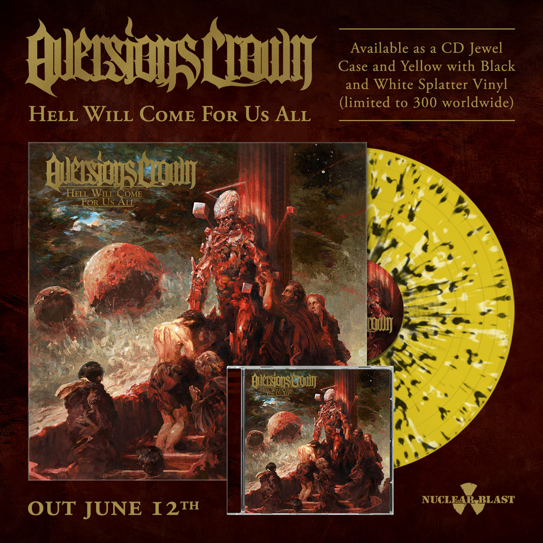 Aversions Crown - Hell Will Come For Us All - Album Cover