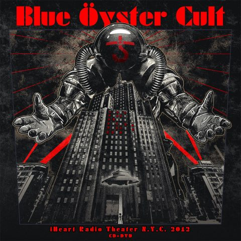Blue Oyster Cult - Iheart Radio Theater N - Y - C - Album Cover