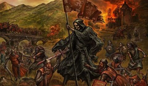 Grave Digger - Fields Of Blood - Album Cover