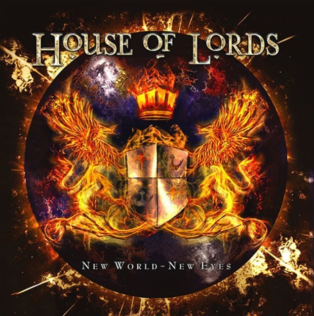 House Of Lords - New World New Eyes - Album Cover