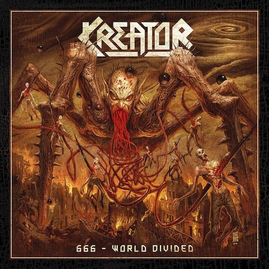 Kreator - 666 World Divided - Single Cover