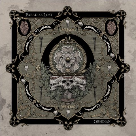 Paradise Lost - Obsidian - Album Cover