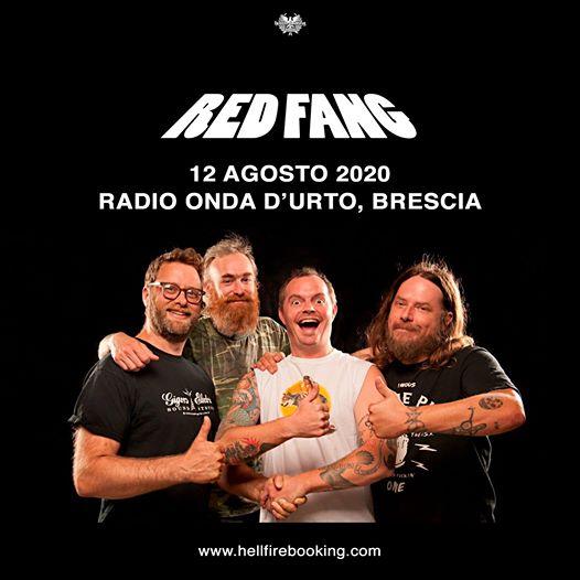 Red Fang - Brescia - Radio Onda D'Urto 2020 - Promo